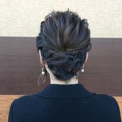 ヘアアレンジ ボブ モテ髪 簡単ヘアアレンジ ヘアスタイルや髪型の写真・画像