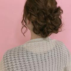 大人女子 女子会 ヘアアレンジ 結婚式 ヘアスタイルや髪型の写真・画像