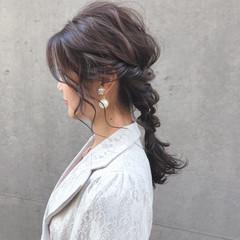成人式 卒業式 フェミニン ヘアアレンジ ヘアスタイルや髪型の写真・画像