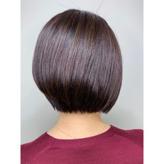 モード ボブ ショートボブ ショート ヘアスタイルや髪型の写真・画像