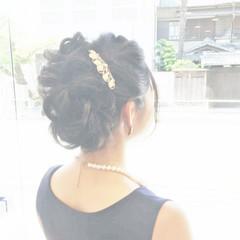 編み込み ゆるふわ フェミニン 大人女子 ヘアスタイルや髪型の写真・画像