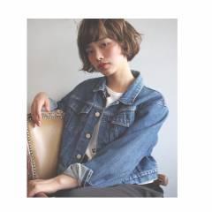 ボブ パンク 春 ウェットヘア ヘアスタイルや髪型の写真・画像