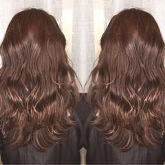 オフィス 外国人風 デート ロング ヘアスタイルや髪型の写真・画像