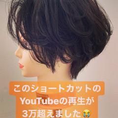 ベリーショート ショート 小顔ショート ショートヘア ヘアスタイルや髪型の写真・画像