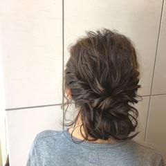 セミロング アッシュ 暗髪 外国人風 ヘアスタイルや髪型の写真・画像