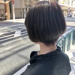 ナチュラル ショート ショートヘア マッシュショート ヘアスタイルや髪型の写真・画像