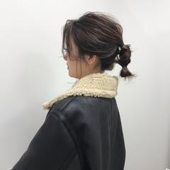 大人女子 フェミニン ヘアアレンジ 福岡市 ヘアスタイルや髪型の写真・画像