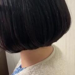 切りっぱなしボブ ナチュラル アンニュイほつれヘア 大人かわいい ヘアスタイルや髪型の写真・画像