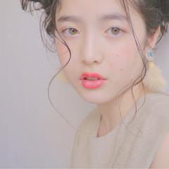 ショート 外国人風 モテ髪 ロング ヘアスタイルや髪型の写真・画像