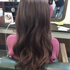 ロング フェミニン 大人かわいい ナチュラル ヘアスタイルや髪型の写真・画像