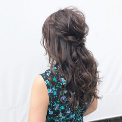 ヘアアレンジ エレガント 大人かわいい 上品 ヘアスタイルや髪型の写真・画像