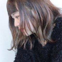 ゆるふわ 抜け感 アンニュイ ロブ ヘアスタイルや髪型の写真・画像