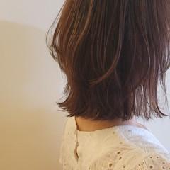ニュアンスウルフ ボブ ナチュラルウルフ ウルフカット ヘアスタイルや髪型の写真・画像