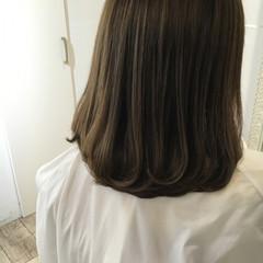 ナチュラル パーマ ストレート 縮毛矯正 ヘアスタイルや髪型の写真・画像