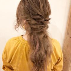 大人かわいい デート フェミニン 簡単ヘアアレンジ ヘアスタイルや髪型の写真・画像