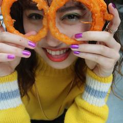 ストリート ヴィーナスコレクション ランダムカール ヘアアレンジ ヘアスタイルや髪型の写真・画像