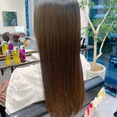 ロングヘア 髪質改善トリートメント 大人かわいい 髪質改善 ヘアスタイルや髪型の写真・画像