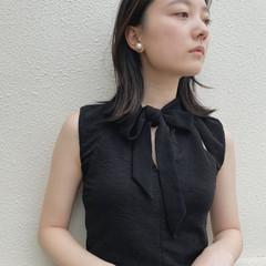 外ハネボブ 透明感カラー 透明感 外ハネ ヘアスタイルや髪型の写真・画像