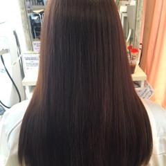 大人かわいい 簡単ヘアアレンジ ロング 暗髪 ヘアスタイルや髪型の写真・画像