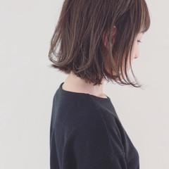 グラデーションカラー グレージュ ナチュラル 外国人風カラー ヘアスタイルや髪型の写真・画像