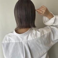 ハイトーンカラー ナチュラル ヘアカラー ブリーチカラー ヘアスタイルや髪型の写真・画像