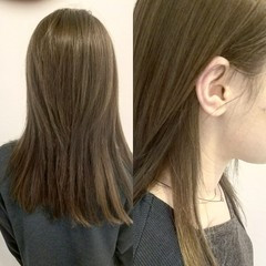 トレンド 暗髪 外国人風 インナーカラー ヘアスタイルや髪型の写真・画像