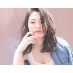 春 ミディアム 暗髪 パンク ヘアスタイルや髪型の写真・画像