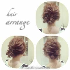 ミディアム 結婚式 コンサバ 二次会 ヘアスタイルや髪型の写真・画像