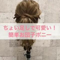 花火大会 簡単ヘアアレンジ 夏 お祭り ヘアスタイルや髪型の写真・画像