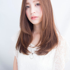 大人かわいい 透明感 外国人風 ブラウン ヘアスタイルや髪型の写真・画像