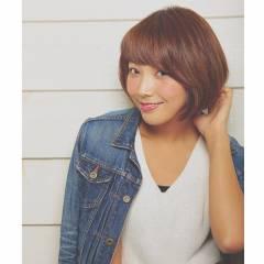 艶髪 ショート ストリート ショートボブ ヘアスタイルや髪型の写真・画像