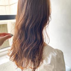 大人ロング デート ガーリー アンニュイほつれヘア ヘアスタイルや髪型の写真・画像