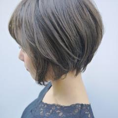 ショート 秋冬ショート スポーツ コンサバ ヘアスタイルや髪型の写真・画像