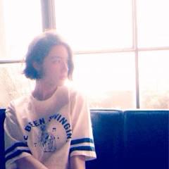 ストリート ナチュラル 秋 ストレート ヘアスタイルや髪型の写真・画像