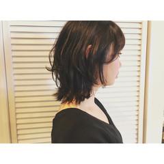 マッシュ モード 外ハネ 色気 ヘアスタイルや髪型の写真・画像