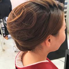 ミディアム 結婚式 パーティ ヘアアレンジ ヘアスタイルや髪型の写真・画像