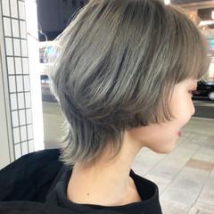 モード ネオウルフ マッシュウルフ ウルフ女子 ヘアスタイルや髪型の写真・画像