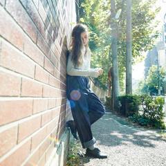 ストレート ゆるふわ 大人かわいい 外国人風 ヘアスタイルや髪型の写真・画像