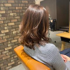 コーラルピンク 透明感カラー TOKIOトリートメント ナチュラル ヘアスタイルや髪型の写真・画像