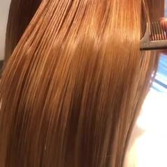 髪質改善トリートメント ロング 水素 髪質改善 ヘアスタイルや髪型の写真・画像