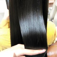 女子力 暗髪 ロング アッシュ ヘアスタイルや髪型の写真・画像