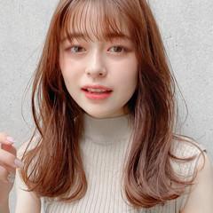 アンニュイほつれヘア ミディアム デジタルパーマ ミディアムレイヤー ヘアスタイルや髪型の写真・画像