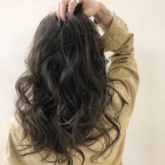 セミロング コンサバ 外国人風 オーガニックカラー ヘアスタイルや髪型の写真・画像