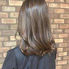 透明感 アディクシーカラー 艶髪 韓国ヘア ヘアスタイルや髪型の写真・画像
