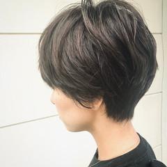 ショートマッシュ マッシュ ショート マッシュヘア ヘアスタイルや髪型の写真・画像