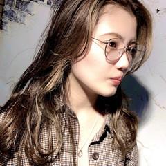 ハイトーンカラー ミディアム モテ髪 外国人風カラー ヘアスタイルや髪型の写真・画像