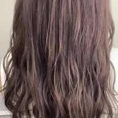 ブリーチカラー クール ブリーチ ラベンダーグレージュ ヘアスタイルや髪型の写真・画像