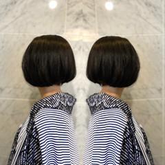 ナチュラル トリートメント 大人可愛い ボブ ヘアスタイルや髪型の写真・画像