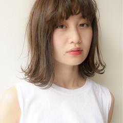 かわいい 秋 ミディアム モテ髪 ヘアスタイルや髪型の写真・画像