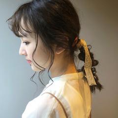 ヘアアレンジ 抜け感 簡単ヘアアレンジ 透明感 ヘアスタイルや髪型の写真・画像